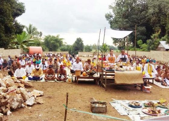 Nusabali.com - upacaranya-kolaborasikan-adat-bali-dan-dayak