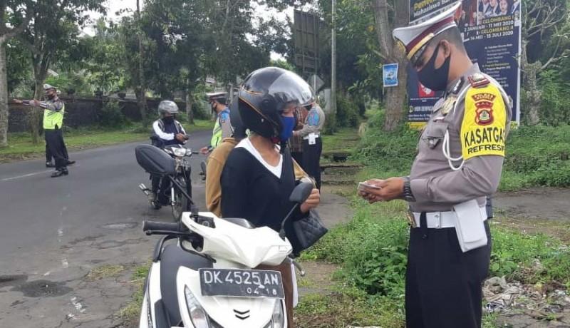 www.nusabali.com-ratusan-pelanggar-terjaring-sebagian-diberikan-teguran