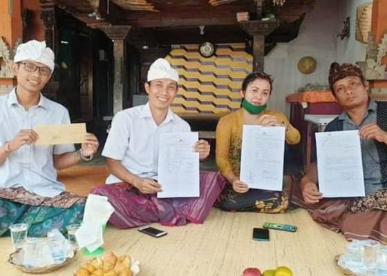 Nusabali.com - kasus-ngaben-sudaji-happy-ending-polres-buleleng-akhirnya-terbitkan-sp3