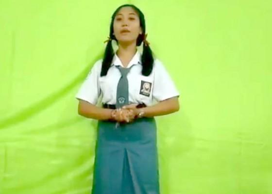 Nusabali.com - para-siswa-diadu-lomba-pidato-virtual