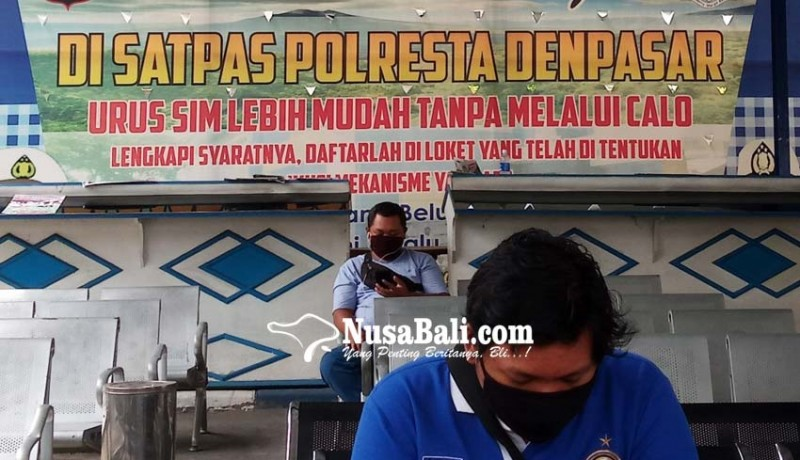 www.nusabali.com-satlantas-polresta-tepis-isu-calo-pembuatan-sim