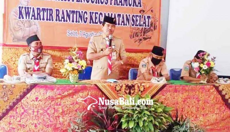 www.nusabali.com-ekstra-pramuka-berlakukan-daring