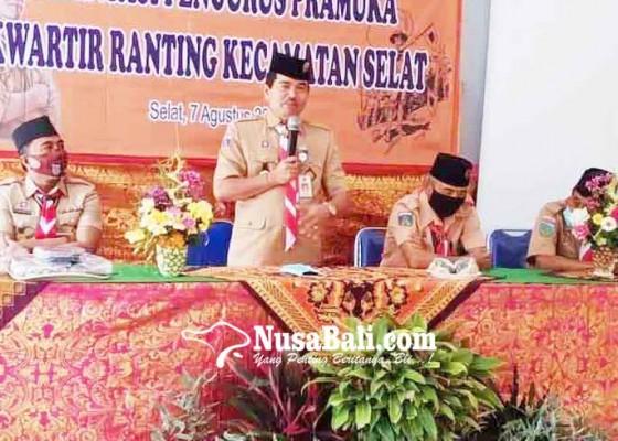 Nusabali.com - ekstra-pramuka-berlakukan-daring