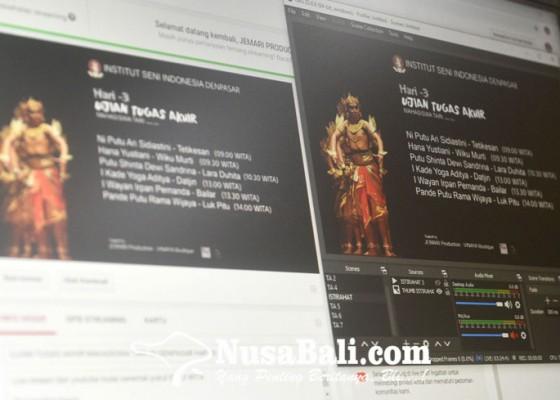 Nusabali.com - ujian-akhir-seni-tari-isi-denpasar-begini-pelaksanaannya