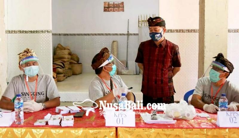 www.nusabali.com-pilkel-serentak-22-desa-di-klungkung-8-incumbent-tumbang