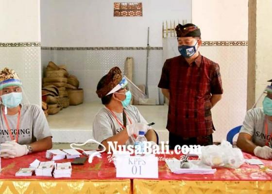 Nusabali.com - pilkel-serentak-22-desa-di-klungkung-8-incumbent-tumbang