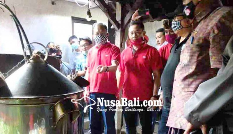 www.nusabali.com-dukung-perajin-arak-gubernur-bantu-bibit-kelapa