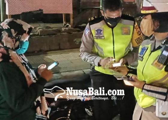 Nusabali.com - tilang-310-pelanggar-216-pelanggaran-tanpa-helm