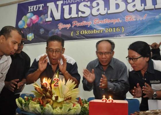 Nusabali.com - nusabali-rayakan-hut-ke-22