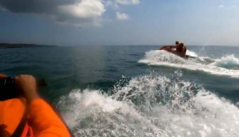 www.nusabali.com-tim-gabungan-kerahkan-28-personel-susur-pantai-sepanjang-3-kilometer