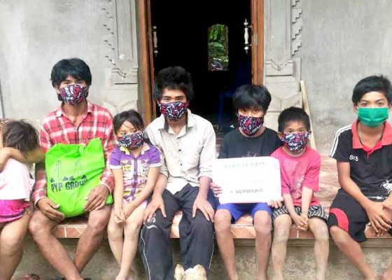 Nusabali.com - komunitas-pyp-bantu-3-siswa-yatim-piatu