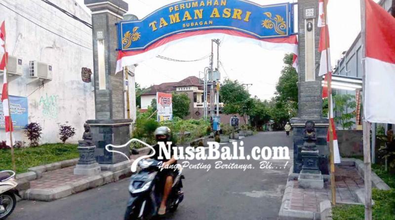 www.nusabali.com-warga-btn-taman-asri-meninggal-positif-covid-19