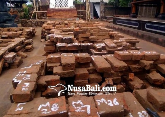 Nusabali.com - kori-agung-pura-dalem-kehen-direstorasi