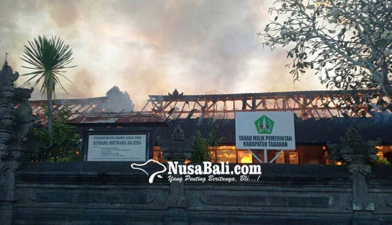 www.nusabali.com-sdn-3-bajera-terbakar-siswa-dipindah