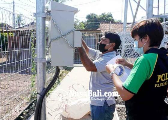 Nusabali.com - pemkab-segel-tower-seluler-dan-stop-proyek-villa