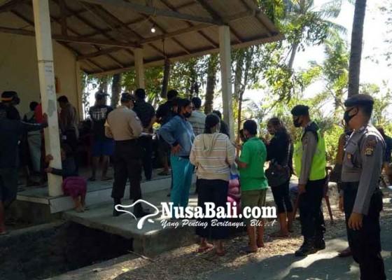 Nusabali.com - pencairan-pbsu-di-pantai-dijaga-babinkamtibmas