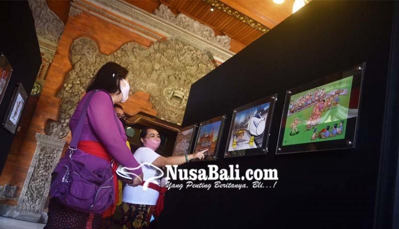 www.nusabali.com-20-kartunis-kritisi-kondisi-sosial-kota-denpasar