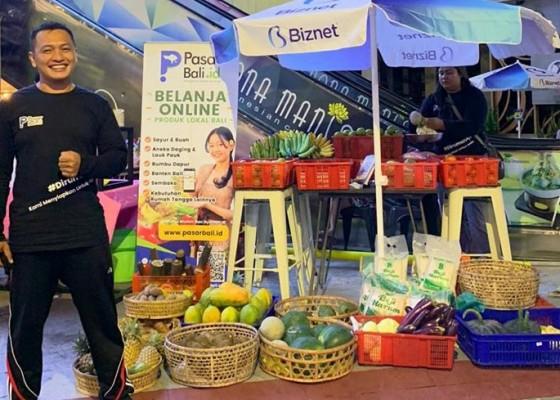 Nusabali.com - mendekatkan-produk-lokal-bali-kepada-masyarakat-pasarbaliid-ikuti-bazaar-ekasima-di-lippo-mall-kuta