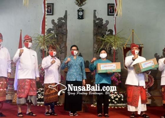 Nusabali.com - hut-ke-75-ri-putri-koster-gaungkan-gebrak-masker