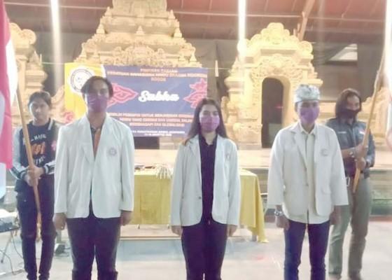 Nusabali.com - pc-kmhdi-bogor-gelar-sabha-di-pura-gunung-salak