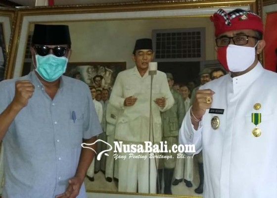 Nusabali.com - hut-ke-75-kemerdekaan-ri-jaya-negara-kunjungi-museum-agung-bung-karno