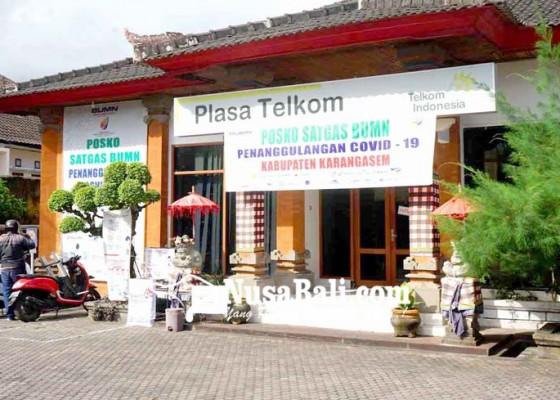 Nusabali.com - telkom-amlapura-diisukan-lockdown