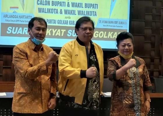 Nusabali.com - pasangan-calon-dari-golkar-dibriefing-ketua-umum-dpp