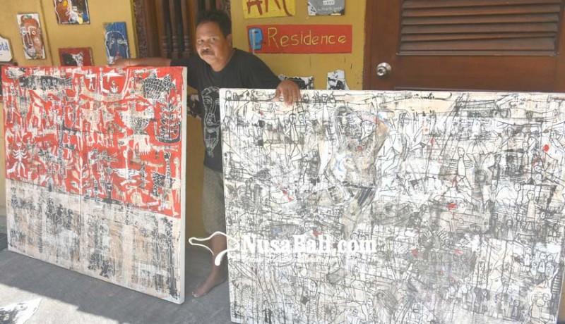 www.nusabali.com-made-wiradana-gelar-open-house-gallery-di-rumah