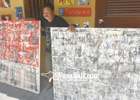 Nusabali.com - made-wiradana-gelar-open-house-gallery-di-rumah