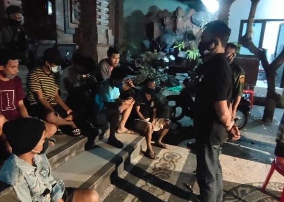Nusabali.com - pesta-miras-saat-pandemi-delapan-orang-diamankan