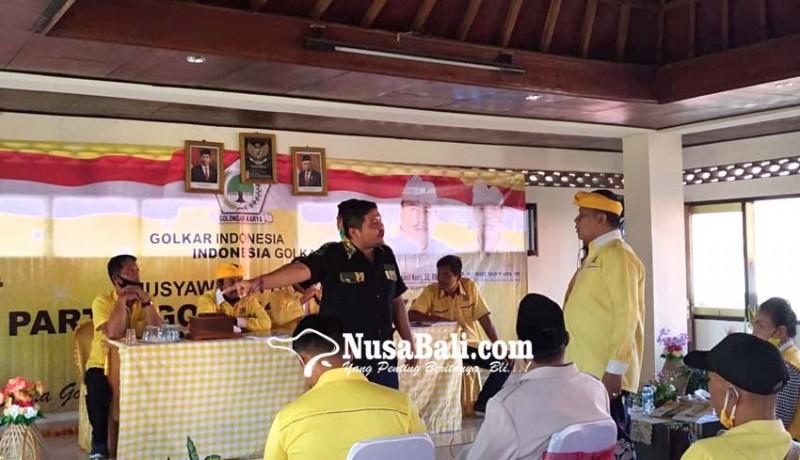 www.nusabali.com-musda-ricuh-era-sukadana-pimpin-golkar-gianyar