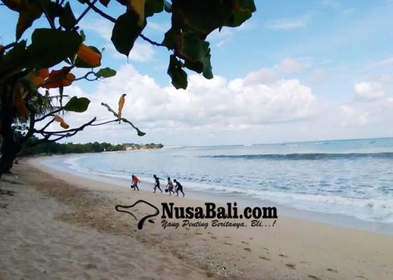 Nusabali.com - pantai-kuta-lengang