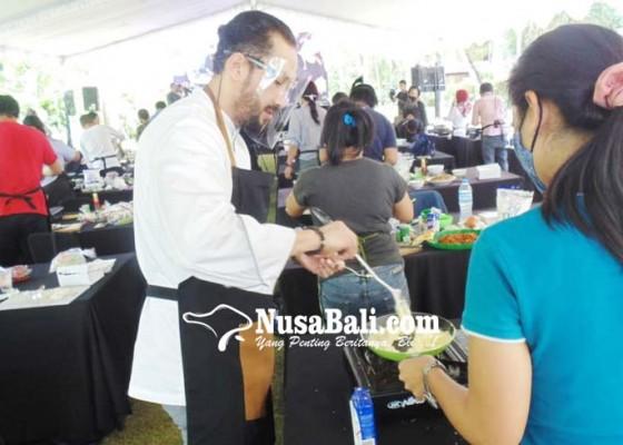 Nusabali.com - pelatihan-memasak-kemenparekraf-diikuti-102-peserta