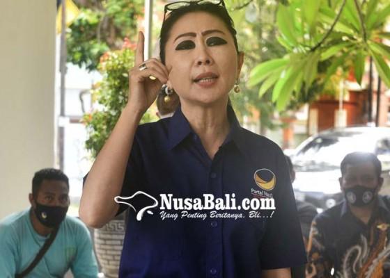 Nusabali.com - julie-laiskodat-akan-serahkan-tongkat-komando-nasdem-bali-setelah-menangkan-pilkada-2020