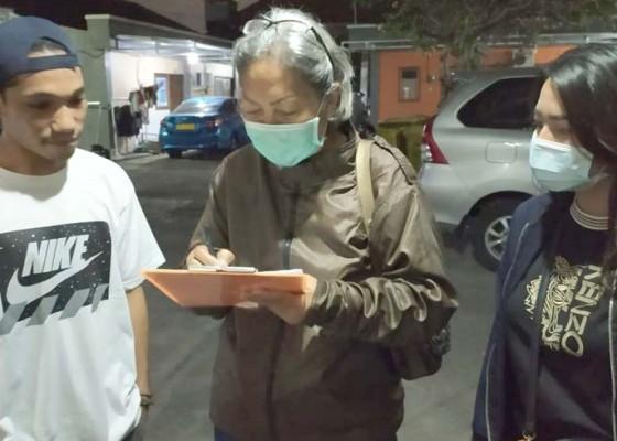 Nusabali.com - pendataan-penduduk-sekaligus-sosialisasi-protokol-kesehatan