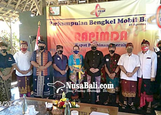 Nusabali.com - wagub-bali-semangati-pelaku-usaha-bengkel