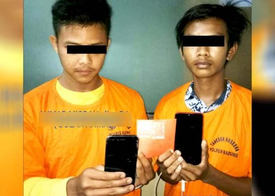Nusabali.com - dua-remaja-diringkus-usai-ambil-tempelan-shabu