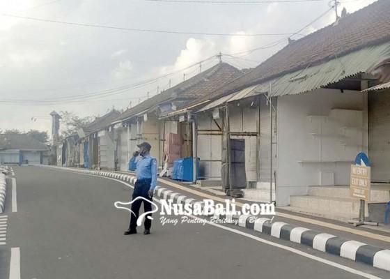 Nusabali.com - toko-masih-tutup-pedagang-putu-kontrak
