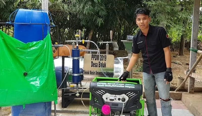 www.nusabali.com-kini-biogas-bisa-jadi-listrik-gunakan-perantara-balon-biogas