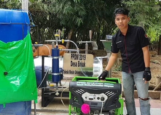 Nusabali.com - kini-biogas-bisa-jadi-listrik-gunakan-perantara-balon-biogas