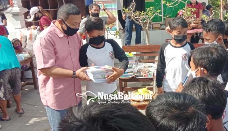 www.nusabali.com-aksi-tukar-plastik-beras-makin-booming-di-gianyar
