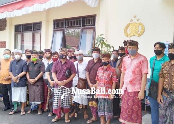 Nusabali.com - keluarga-mantan-bupati-bangli-lapor-ke-polres