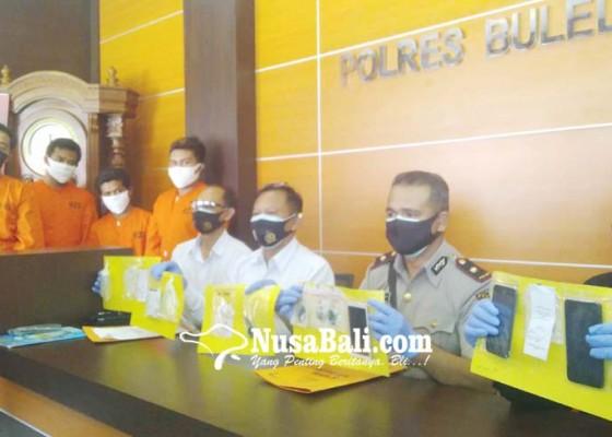 Nusabali.com - operasi-antik-polres-buleleng-ringkus-6-tersangka-kasus-narkoba