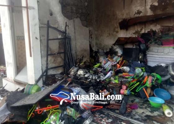 Nusabali.com - korsleting-toko-perabotan-terbakar