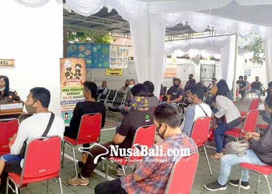 Nusabali.com - 1200-pelanggar-lalin-gerudug-kejari-denpasar
