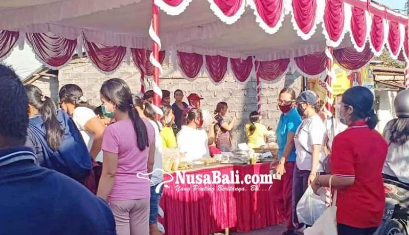 www.nusabali.com-pasar-gotong-royong-sasar-desa-panji