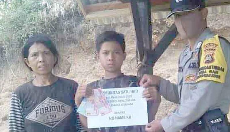 www.nusabali.com-relawan-bantu-dua-siswa-yatim