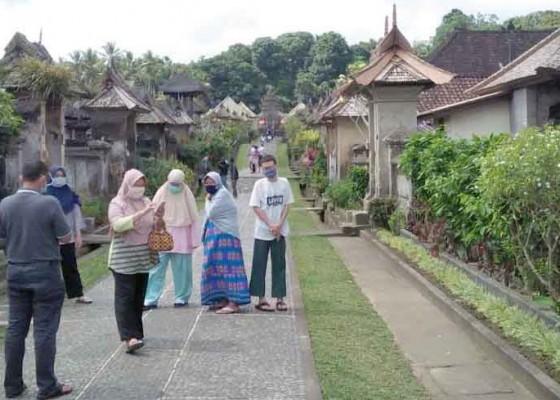Nusabali.com - uji-coba-buka-objek-desa-tradisional-penglipuran