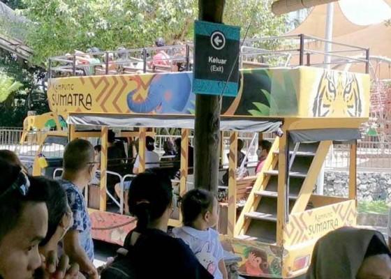 Nusabali.com - wisatawan-domestik-padati-tempat-rekreasi
