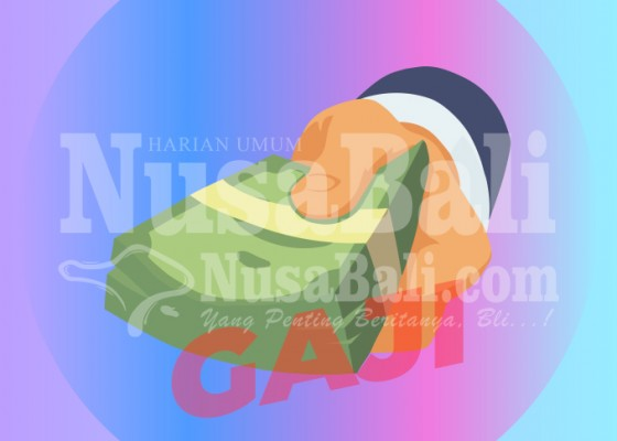 Nusabali.com - belum-terima-gaji-pegawai-kantor-desa-sobangan-pakrimik